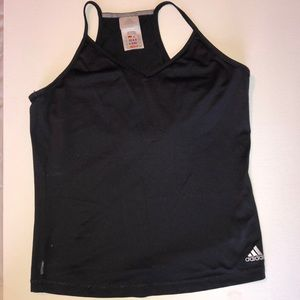 Adidas sports top black